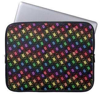 Regenbogen-Windmühlen-Laptop-Kasten Laptop Sleeve