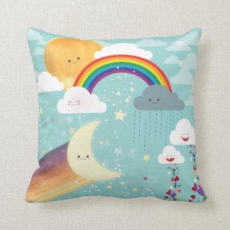 Regenbogen-Wurfs-Kissen Kissen