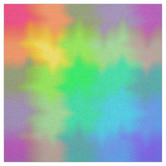 Regenbogenmehrfarbiger Watercolor-abstrakte Stoff