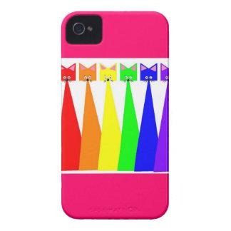 RegenbogenMeows iPhone 4 Hülle