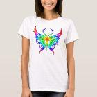 Regenbogenschmetterlingst-stück T-Shirt
