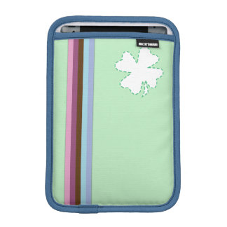 Regenbogenstreifen u. blaues Grün ipad Mini