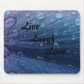 Regentropfen, Live, Lachen, Liebe Mauspads