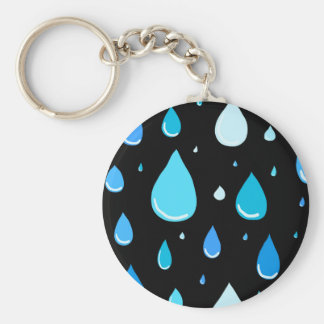 Regentropfen Schlüsselanhänger