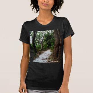 Regenwald-Aquarelleffekte T-Shirt