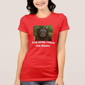 Regenwald-Tier-Erhaltung T-Shirt
