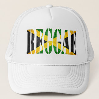 Reggae mit Jamaika-Flagge Truckerkappe