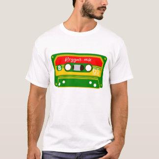 Reggae Rastafarian Farbmischungsband T-Shirt