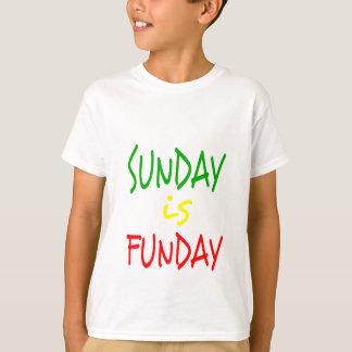 Reggae Sonntag ist Funday T-Shirt