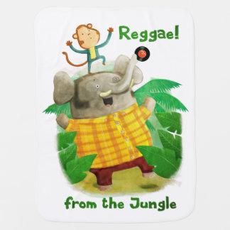 Reggae vom Dschungel Babydecken