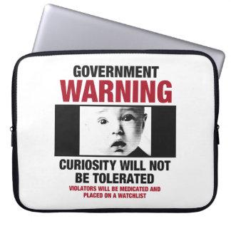 Regierungs-warnende Laptop-Hülse Laptopschutzhülle