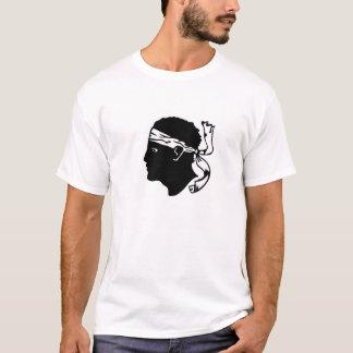 Regionsflagge Korsika-Inselfrankreichs Corse T-Shirt