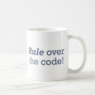 Règle/code Mug