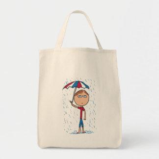 Regnen Tragetasche