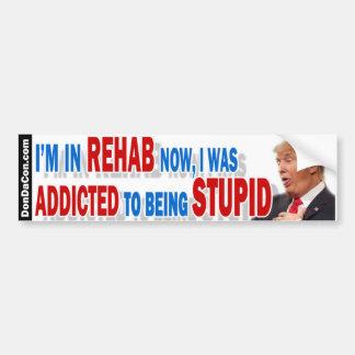 Rehabilitations-dummer Trumpf Autoaufkleber