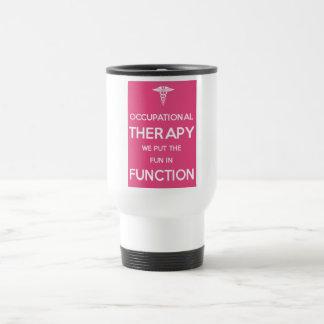 Rehabilitations-Therapie der Reisebecher