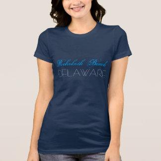 Rehoboth Strand Delaware blaue und weiße T-Shirt