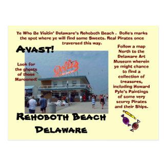 Rehoboth Strand, Delaware Postkarten