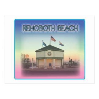 Rehoboth Strand Delaware - Rehoboth Allee-Szene Postkarte