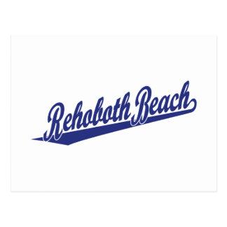 Rehoboth Strand im Blau Postkarte