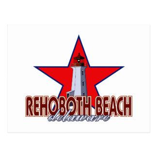 Rehoboth Strand-Leuchtturm Postkarte