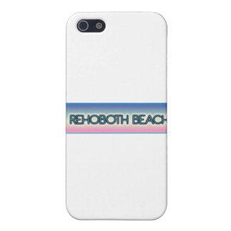 Rehoboth Strand-Pastellregenbogen-Art 1 iPhone 5 Hülle