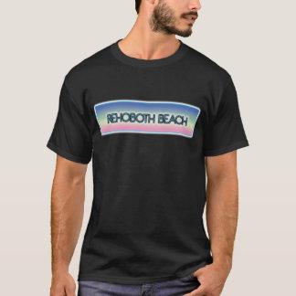 Rehoboth Strand-Pastellregenbogen-Art 1 T-Shirt
