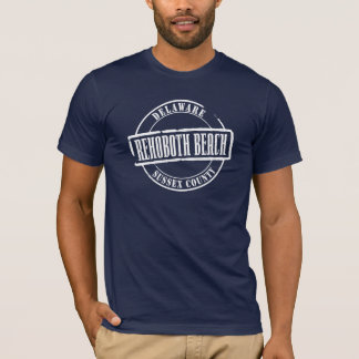 Rehoboth Strand-Titel T-Shirt