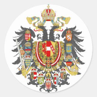 Reich Österreichs Ungarn Runder Aufkleber