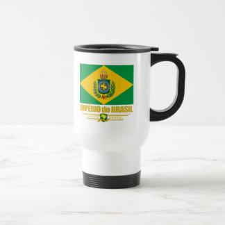 Reich von Brasilien Edelstahl Thermotasse