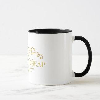 Reiche ist nicht billige Logo-Tasse Tasse