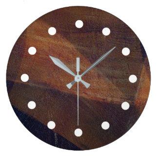 Reiche Überlagerungs-Digital-Kunst-Uhr Große Wanduhr