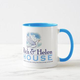 Reiche und Helen-Haus-Tasse Tasse