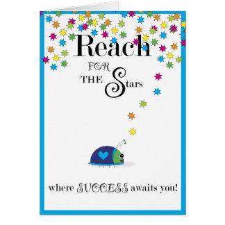 Reichweite für den Stern-Erfolg Karte