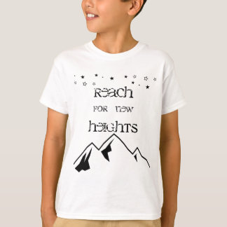 Reichweite für neues Höhen-KinderShirt T-Shirt