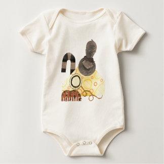 Reifer Cheddarkäse Bio Babygro Baby Strampler
