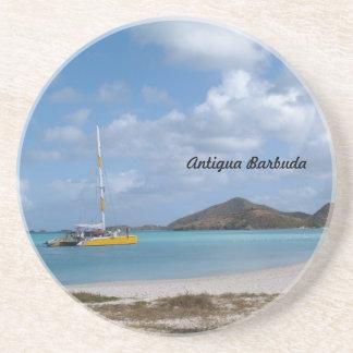 Reihe Antiguas Barbuda--Lustiger Untersetzer