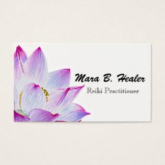 Reiki Haupt-oder Praktiker-Licht gefülltes Visitenkarte