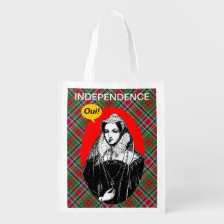 Reine de Mary de sac d'épicerie écossais de l'indé