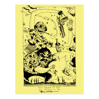 Reine Gonzo Postkarte