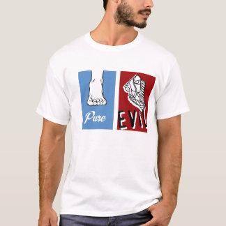 Reines Übel barfuß T-Shirt
