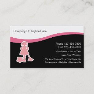 Reinigungs-Visitenkarten Visitenkarte