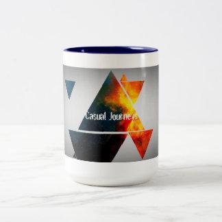 Reise durch die Kunst der Eis-und Zweifarbige Tasse