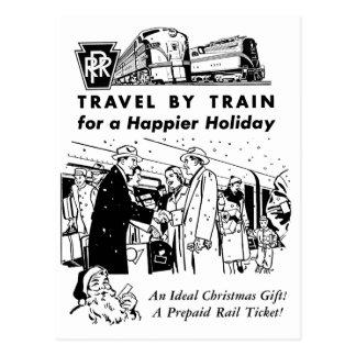 Reise durch Zug-Pennsylvania Eisenbahn-Postkarte Postkarte