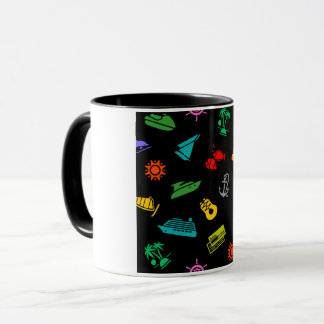 Reise-Ikonen-Tasse Tasse
