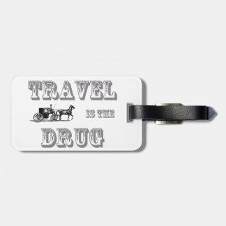 Reise ist der Drogen-Gepäckanhänger Kofferanhänger