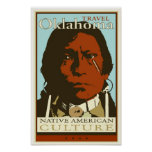 Reise Oklahoma Plakate