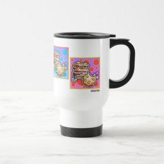 Reise-Tassen - Pop-Kunst-Plätzchen Edelstahl Thermotasse