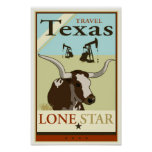 Reise Texas Poster