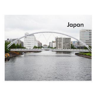 Reise-Tourismus-Anzeige Japans Vintage Postkarte